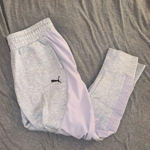 Never worn puma sweat pants